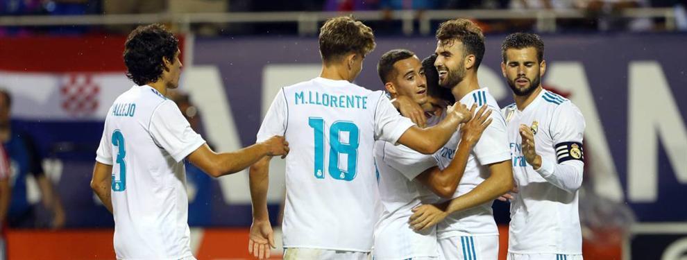 Florentino Pérez (y Zidane) se guardan dos salidas 'bomba' para traer fichajes al Real Madrid