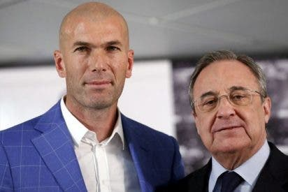 La reunión más 'caliente' entre Zidane y Florentino Pérez (de la que sale un 'bombazo')
