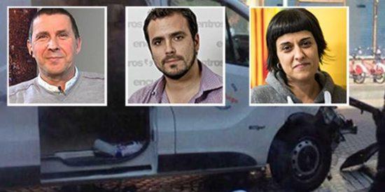 Masacre en Barcelona: tras la miseria de Garzón, el vómito de la CUP, la sorna de Otegi y el cinismo de Podemos
