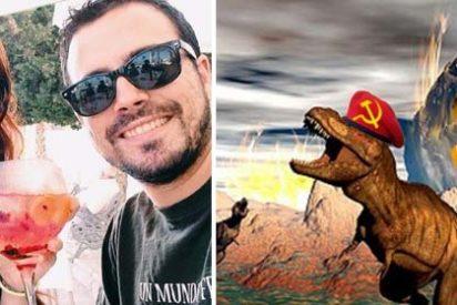Alberto Garzón supera su propio listón afirmando que el capistalismo extinguirá la humanidad como los meteoritos acabaron con los dinausarios