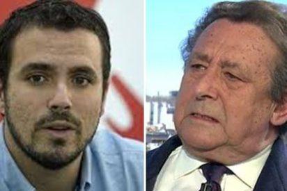 El hipócrita podemita Garzón saca pecho de su insolencia y se revuelve contra Ussía