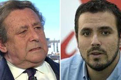 Para el miserable Alberto Garzón el atentado ha sido un atropello y Ussía le rebana
