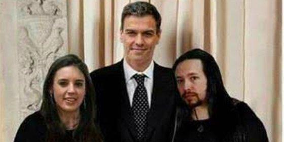 Las redes se parten la caja con la desopilante foto del Frente Popular