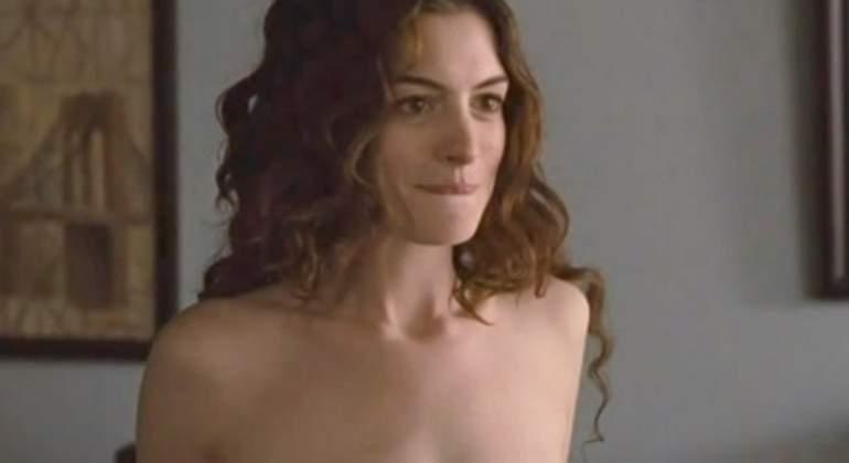 Se filtran las fotografías más íntimas de Anne Hathaway