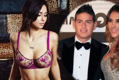 James Rodríguez no pierde un segundo y ya tiene nueva pareja