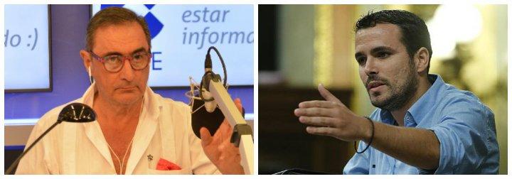 "Carlos Herrera le mete un palo magistral a ""euroidiotas"" y 'Maduritos' como Garzón que babean con el chavismo"