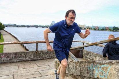 "La lumbalgia hace confesar a Rajoy: ""Faltó moderación"""