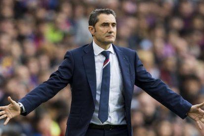 La bronca de Valverde con un jugador del Barça que obliga a intervenir a Messi
