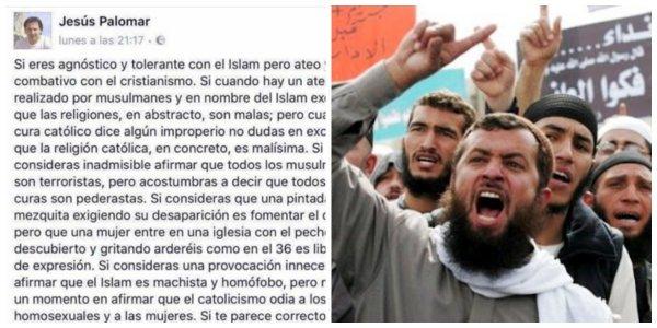 Un profesor de Filosofía pone patas arriba Facebook con un post sobre el Islam