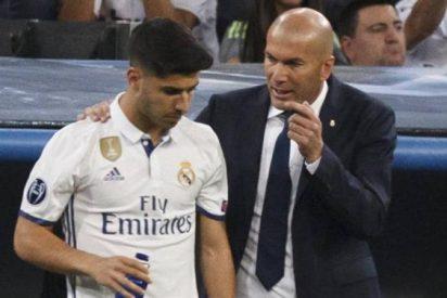 La conversación más caliente de Zidane con Marco Asensio en el Real Madrid