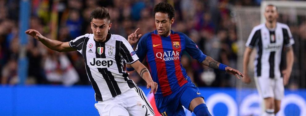 La Juventus quiere meter a un jugador del Barça en la operación Dybala