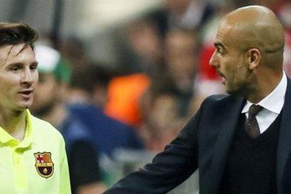 La llamada de Guardiola a Messi que hace tambalear al Barcelona (se prepara una bomba)