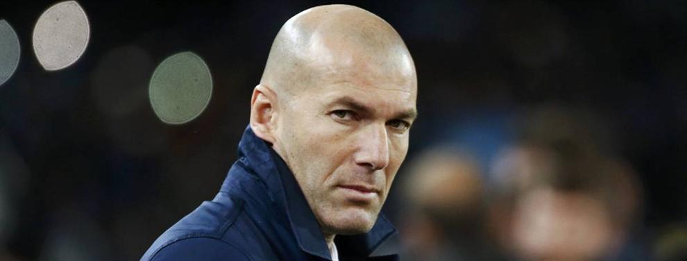 ¡La operación Neymar amenaza con sacar del Real Madrid a uno de los puntales de Zidane!