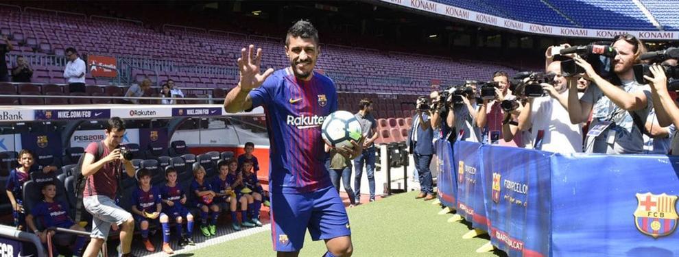 Las primeras impresiones del vestuario del Barça sobre Paulinho dejan a más de uno en ridículo