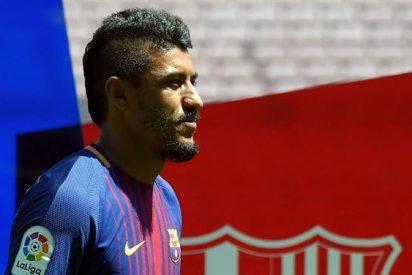 ¡Lío con Paulinho! Filtran una conversación que destroza al jugador del Barça