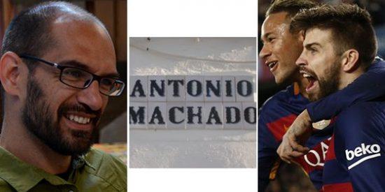 El alcalde de Sabadell añade imbecilidad a la polémica con la calle de Antonio Machado imitando a Piqué