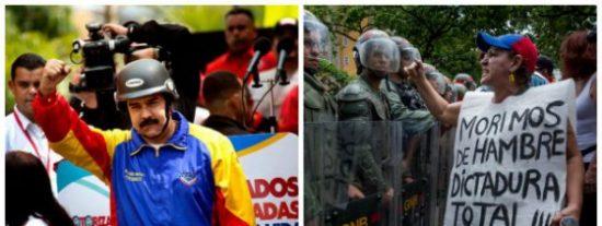 El País le da con la mano abierta a Podemos señalando las atrocidades de su siniestro amigo Maduro