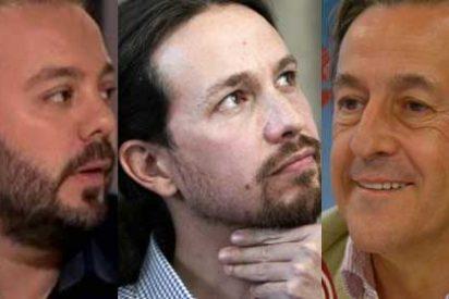 Patetismo ilimitado: el periodista de cámara de Podemos Antonio Maestre 'bucea' entre los antepasados de Hermann Tertsch para desacreditarle y Pablo Iglesias lo jalea