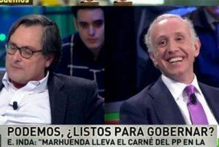 Para los 'progres' de El País, el problema de que existan tertulias es que vayan...Inda y Marhuenda