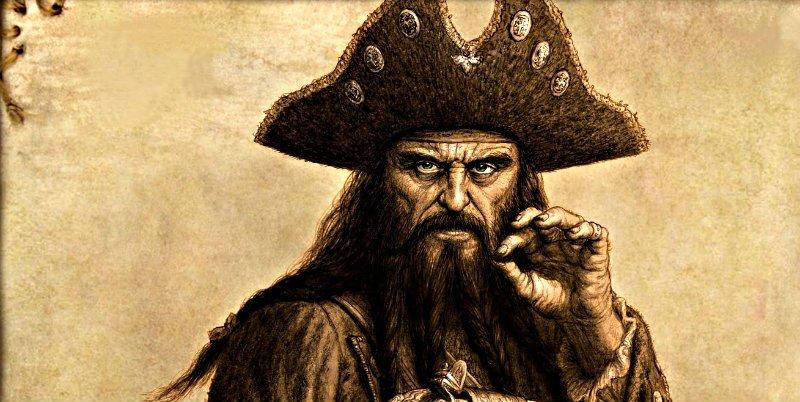 El misterio del gran tesoro robado al inglés que el pirata 'Barbanegra' se llevó a la tumba