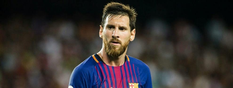 Messi cuela un fichaje inesperado en la agenda del Barça (y fulmina a otro crack)