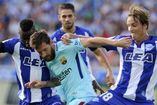 Messi tumba al Alavés