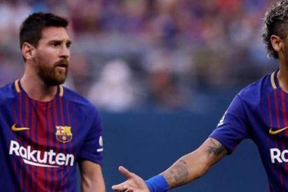 Messi y Neymar se despieden