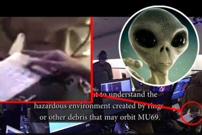 Alien: Captan un extraterrestre en el interior de un avión de la NASA