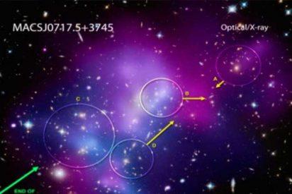 [VÍDEO] La NASA revela sorprendentes imágenes del choque de galaxias
