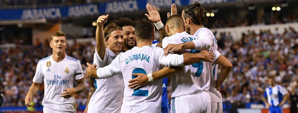 Oferta de última hora: llega un fax al Bernabéu que puede revolucionar al Real Madrid