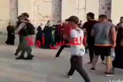[VÍDEO] El palestino que 'le hace bullying' a un soldado israelí y la Red 'explota' de alegría