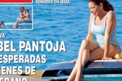 Isabel Pantoja en bañador