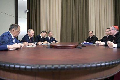 """Putin respalda el """"diálogo constructivo"""" entre Moscú y la Santa Sede"""