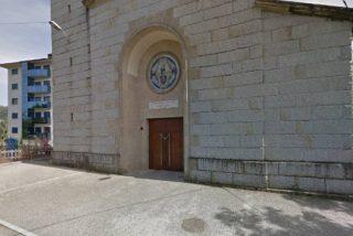 Detenido por robar en una iglesia en Orense y morder al párroco