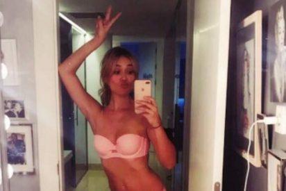 Patricia Conde se fotografía en ropa interior para las redes sociales