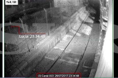 [VÍDEO] La niña Lucía corriendo por las vías del tren de Málaga
