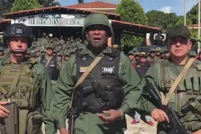 [VÍDEO] Confirmado un muerto y un herido de gravedad tras el alzamiento en un fuerte militar contra Maduro