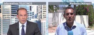 El patinazo de este reportero de Telecinco hace arder las redes