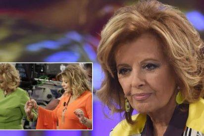 El ictus de Mª Teresa Campos 'avisó' en '¡QTTF!'