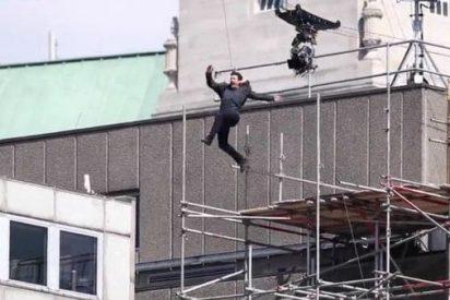 [VÍDEO] Así se lesionó Tom Cruise durante el rodaje de 'Misión Imposible 6'