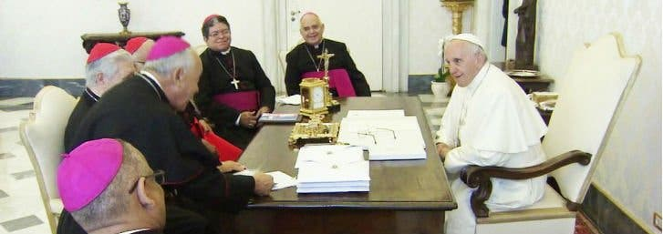 El Papa se encontrará con los obispos venezolanos durante su visita a Colombia