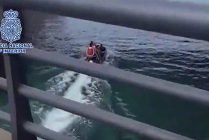 Así introducían inmigrantes en España con motos acuáticas