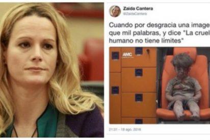 ¡Cuerpo a tierra! La comandante Zaida Cantera (PSOE) da lecciones de periodismo y le sale el tiro por la culata