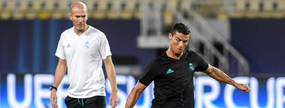 Zidane frena una fuga en el vestuario tras la Supercopa (y prepara dos 'bombazos' para el Clásico)