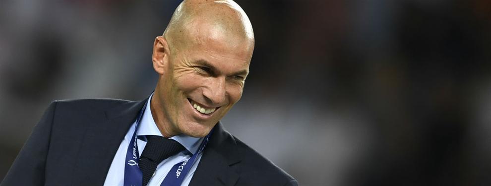Zidane tiene un ?plan b? al fichaje de Mbappé con sorpresa
