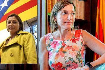 La 'delincuente' Carme Forcadell tiene algo de vida más allá de la independencia de Cataluña