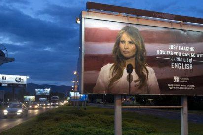 El machista, xenófobo y ofensivo cartel que ha ordenado retirar Melania Trump