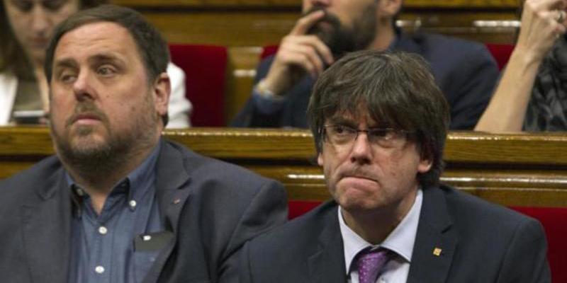 Puigdemont: acusado de desobediencia, prevaricación y malversación