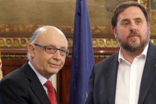 Montoro comunica a Junqueras el bloqueo total del presupuesto de la Generalitat catalana
