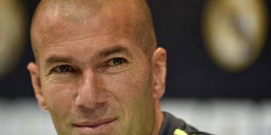 Zidane enfila a un peso pesado del Real Madrid en el viaje de vuelta de Dortmund